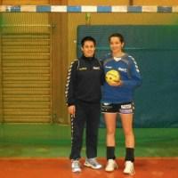 Handball Miezen Trainerin Cristina Cabeza-Gutierrez