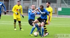 20140215 Testspiel Neunkirchen - Eintracht Trier, Lushtaku, Kuduzovic, Foto: 5vier.de - 5VIER