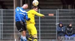 20140215 Testspiel Neunkirchen - Eintracht Trier, Hollmann, Foto: 5vier.de - 5VIER