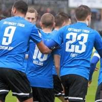 20140222 Eintracht Trier - SVN Zweibruecken, Regionalliga Suedwest, Jubel, Foto: 5vier.de - 5VIER