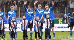 20140222 Eintracht Trier - SVN Zweibruecken, Regionalliga Suedwest, Konrad, Hollmann, Dingels, Foto: 5vier.de - 5VIER