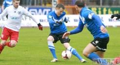 20140222 Eintracht Trier - SVN Zweibruecken, Regionalliga Suedwest, Matthias Cuntz, Foto: 5vier.de - 5VIER