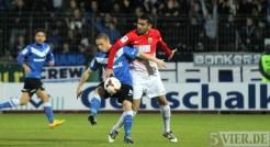 20140321 Eintracht Trier - Wormatia Worms, Regionalliga Suedwest, Alon Abelski, Foto: 5vier.de - 5VIER
