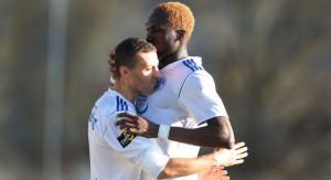 Abdullei sicherte mit seinem Treffer zum 2:1 den Mehringer Auswärtssieg (Foto: 5vier-Archiv)