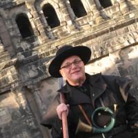 Foto: Melanie Koch. Nachtwächter Alf Keilen alias Jakob Fischer  - 5VIER