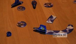 Auf Kollissionskurs mit der Burg - da hat sich der Zauberer etwas verflogen. Foto: Stephan Nestel