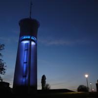 Der Wasserturm auf dem Trierer Petrisberg. Foto: Tourist-Information Trier