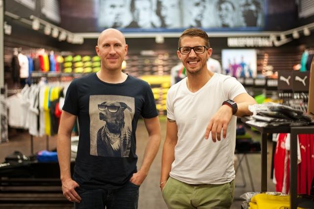 Sven Lamberty und Stefan Fleck - 5VIER SVE Eintracht-Trier