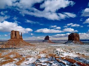 Monument Valley USA. Foto von Helfried Weyer