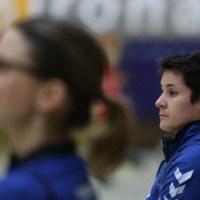 Miezen-Trainerin Cristina Cabeza Gutierrez  erwartet eine engagierte Mannschaft, auch wenn man weiß, wie schwer die Aufgabe ist. Foto: TriSign - 5VIER