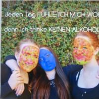 Das Plakat der Schülerinnen des Gymnasiums Konz, Hanna Lacour, Julia Hauer,  Anna Koch, belegte in RLP den 2. Platz. Foto: Polizei Trier - 5VIER