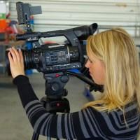 OK54 Kamerafrau, Bild zur freien Verwendung, Foto: OK54 - 5VIER