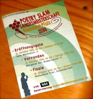 Poetry Slam Landesmeisterschaft Rheinland-Pfalz 2014