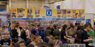 Der belagerte Stand von Queen Games auf der SPIEL 2014. Foto: Stephan Nestel