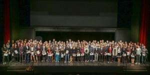 Die erfolgreichsten Absolventen in IHK-Berufen des Jahrgangs 2013/14 aus der Region Trier. Foto: IHK Trier   - 5VIER