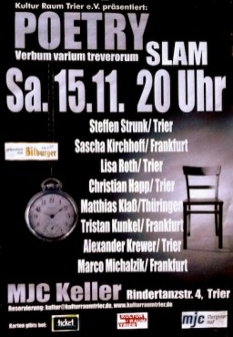 Trierer Poetry Slam Workshop
