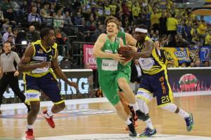 Will seine vergangenen Leistungen gegen Oldenburg wiederholen: Adin Vrabac Foto: Thewalt