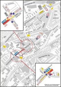 Amtlicher Stadtplan © Stadt Trier, Amt für Bodenmanagement und Geoinformation AB 1520.07/2015  - 5VIER