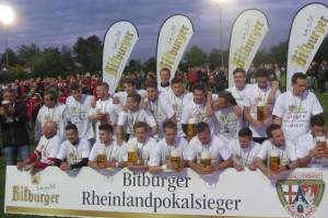 FSV Salmrohr: Pokalsieger 2015 (Foto: Jan Herrmany)