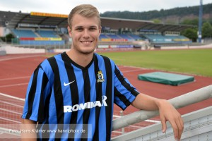 Silvano Varnhagen wechselt von Karlsruhe nach Trier. Foto: Hans Krämer