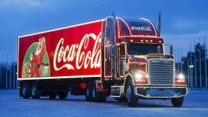 Coca-Cola Weihnachtstruck - 5VIER
