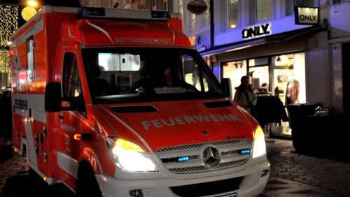 Hauptmarkt Feuerwehr Text