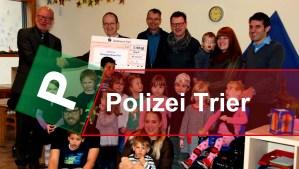 Spende Polizei Titel - 5VIER
