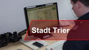 Gefahren-Warnung für Trier