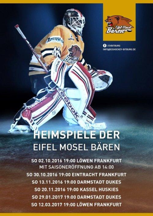 Saisonstart Eishockey Eifel-Mosel Bären, Foto: Eifel-Mosel Bären