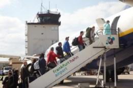 Die Passagierzahlen am Hahn sind 2016 bisher nur leicht rückläufig