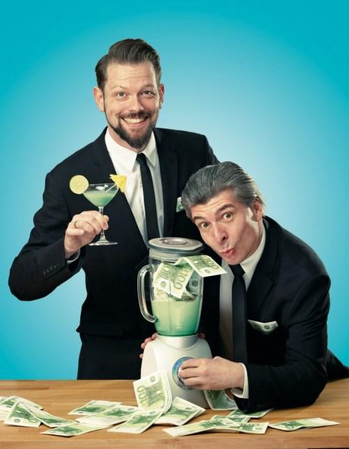 Satiriker-Duo ONKeL fISCH bei SWR3, Foto: Rainer Holz