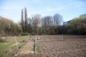Ein Teil des Geländes für den Gemeinschaftsgarten in Trier-Euren