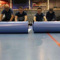 Hallenboden für die Handball-WM der Frauen wird verlegt