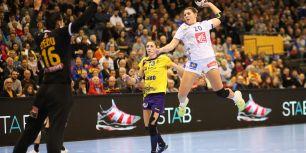 Frankreich gegen Rumänien bei der Handball-WM der Frauen in Trier