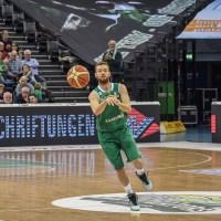 Simon Schmitz der RÖMERSTROM Gladiators Trier im Heimspiel gegen Karlsruhe