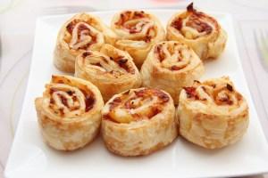 Leckere Mini-Pizzaschnecken zum Selbermachen