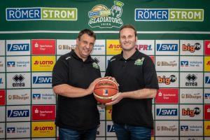 Das neue starke Gespann hinter dem sportlichen Team: Achim Schmitz und Andre Ewertz. Foto: Photogroove