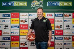 Der neue Manager der Gladiators Trier. Foto: Photogroove