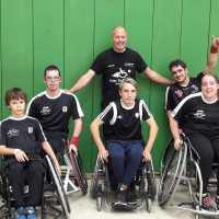 Rollstuhlbasketballer