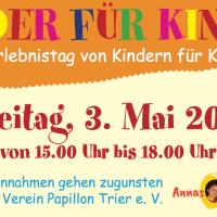 kinder für kinder , schweich, Erlebnistag - 5VIER