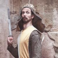 Gideon Rapp in der Rolle des König Arus. Bildnachweis: Marco Piecuch - 5VIER