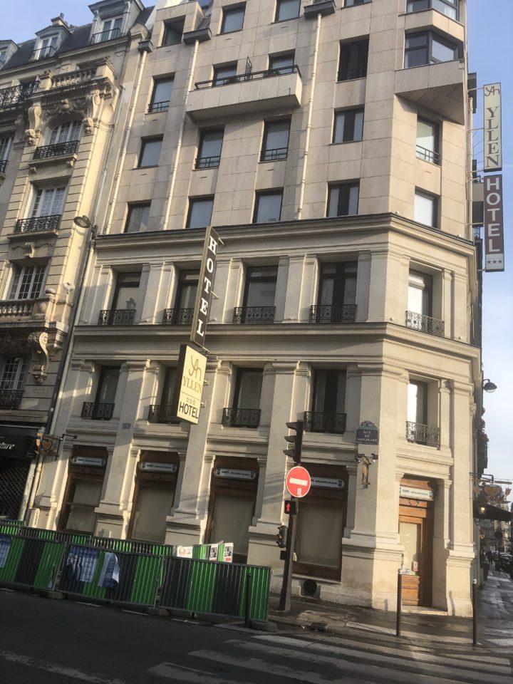 Hotel Yllein Eiffel Paris