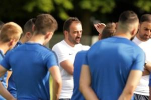 Fahrudin Kuduzović beim Training der Eintracht. Foto: Sebastian J. Schwarz - 5VIER