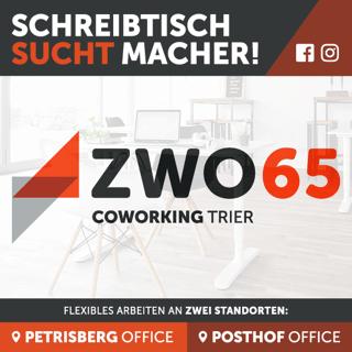 Coworking Trier - ZWO65 - Petrisberg und Posthof Banner
