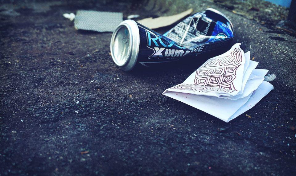 Müllsammler Symbolbild