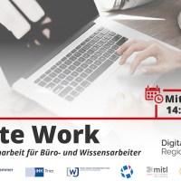 Remote Work - Webinar der WiFö Trier