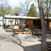 Der Biergarten des Blesius Garten - Kraftbräu in Trier. Foto: 5vier.de / Manuel Maus