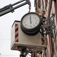 Öffentliche Uhren in Trier in der Sommerpause