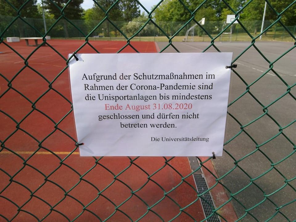 Uni-Sportanlagen