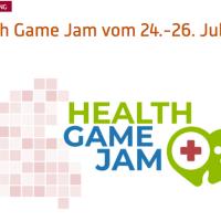 Plakat des dritten Health Game Jams in Trier der Hochschule Trier
